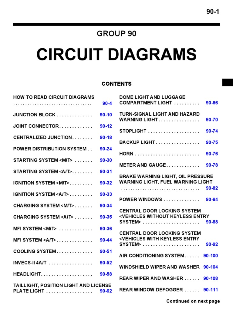 [DIAGRAM_0HG]  Lancer Wiring Diagram | Fuse (Electrical) | Electrical Connector | Wiring Diagram Of Mitsubishi Lancer |  | Scribd