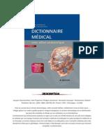 Dictionnaire Médical - Jacques Quevauvilliers - Abe Fingerhut - Philippe Letonturier
