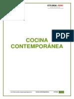 Separata de Cocina Contemporanea (Silabo)