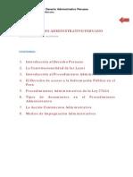 Derecho Administrativo Peruano