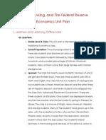 econ unit plan