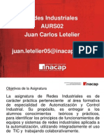 1° clase redes industriales