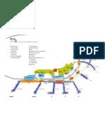 Map of Philadelphia Airport