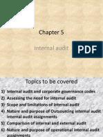 Chapter 5 (Internal Audit )