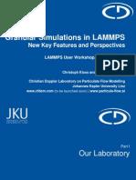 Granular Lammps