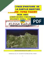 Histoire de La Kabylie Maritime Tifra Iflissen Tigzirt