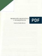 BURILLO, F. Prospección Arqueológica y Geoarqueológica. 1997.pdf