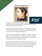 Biografia de Jose Matias Delgado