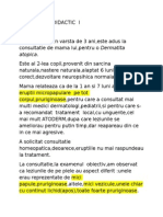 Caz Clinic Didactic i (Autosaved)