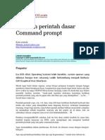 Perintah Perintah Dasar Command Prompt