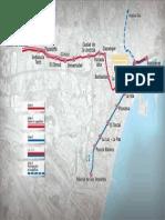 Metro - Lineas y Paradas