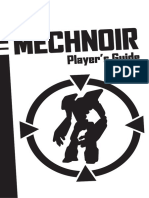 Mechnoir - Players Guide