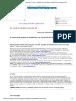 Seminário de Saúde Do Trabalhador de Franca - A Orientação Sexual e Identidade Na Constituição Dos Movimentos Sociais