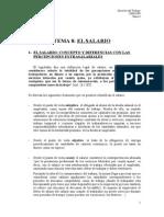 Tema 8 El Salario