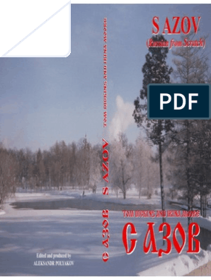 S Azov Russian From Scratch | Grammatical Number | Verb