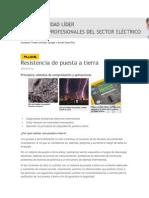 Resistencia de Puesta a Tierra Voltimum España