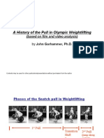 A History of the Pull in Olympic Weightlifting
