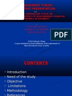 A.k. Synopsis Presentation