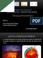 Energía Geotermoeléctrica