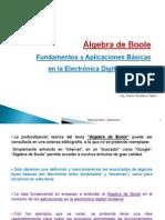 Algebra Boole Fundamentos y Aplicaciones Basicas Electronica Digital Moderna Presentacion Powerpoint