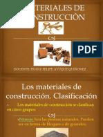 Materiales de Construcciòn