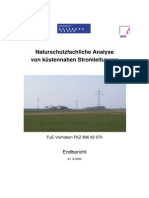 Endbericht Ausbau Stromleitung Kueste