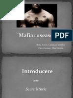 Mafia ruseasca Prezentare