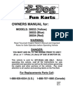 30032 33 34 Manual Yerf Dog