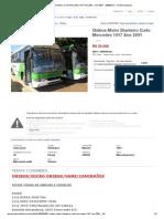 Onibus Motor Dianteiro Curto Mercedes 1417 Ano 2001 - Ano 2001 - 280000 Km - No MercadoLivre