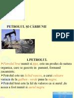 Petrolul Şi cĂrbunii