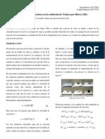 Oxidación de yoduro por hierro (III)