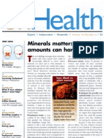 Magnesium and Minerals for Health (p1/4)