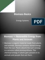 Biomass Basics