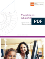 Folleto Maestrias EDU 2012-1