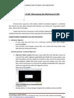 Menggambar Profil Memanjang Dan Melintang Di LDD