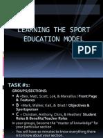 sport education model lecture