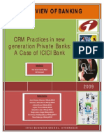Crm at Icici Bank
