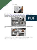 Pasang Infus Printer Canon MP250 tutor