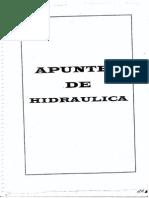 Apuntes de Hidraulica