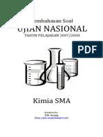 Pembahasan Soal UN Kimia SMA 2008