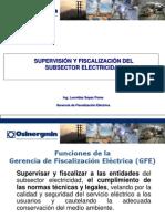 3.Supervision y Fiscalizacion Del Subsector Electricidad