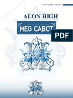 (Avalon High-Meg Cabot)