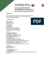 Guias de Atención de Parasitismo Intestinal.