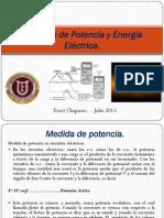 Medicion de Potencia y Energia Electrica