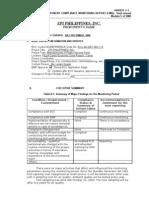 Semi-Annual Report Jul-Dec 2009