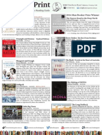 2014 Books in Print Summer Reading Guide