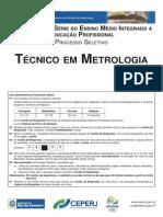 Técnico Em Metrologia