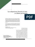 Dialnet LasAdaptacionesLiterariasAlCine
