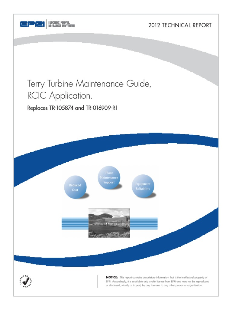 epri terry turbine maintenance guide valve steam rh pt scribd com epri bwr water chemistry guidelines epri boiler water chemistry guidelines