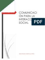 Comunicacion Para La Interaccion Social.